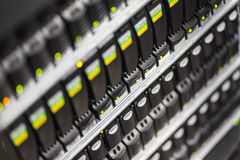 Festplattenlaufwerk im Speichersystem Lizenzfreie Stockfotografie