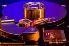 Festplattenlaufwerk-Platte lizenzfreie stockfotos