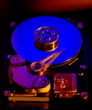Festplattenlaufwerk-Scheibe lizenzfreies stockbild