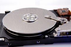 Festplattenlaufwerk und Zweiheit des Computers Stockbilder
