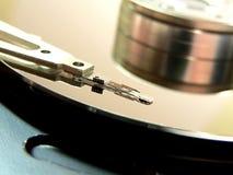 Festplattenlaufwerkdetails Stockbild