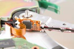 Festplattenlaufwerkdetails Lizenzfreies Stockbild