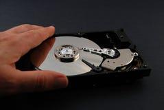 Festplattenlaufwerkinnenraum lizenzfreies stockbild