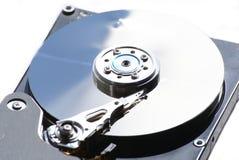 Festplattenlaufwerkkopf und -diskette lizenzfreie stockfotos