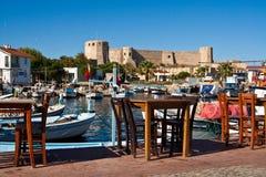 Festung auf Bozcaada, die Türkei lizenzfreies stockfoto