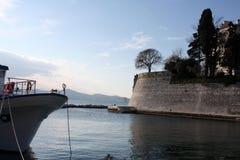 Festung auf der Seeküste adriatisches Zadar Kroatien Lizenzfreies Stockbild