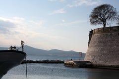 Festung auf der Seeküste adriatisches Zadar Kroatien Stockfoto