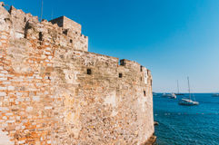 Festung in Bodrum Stockfoto