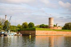 Festung in der Sonne lizenzfreie stockbilder