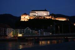 Festung in der Stadt von Kufstein, Österreich stockbild