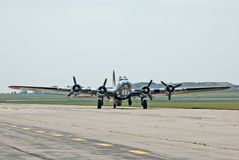 Festung des Flugwesen-B-17 lizenzfreie stockbilder
