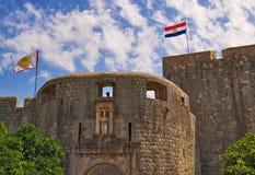Festung in Dubrovnik Stockfoto