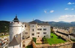 festung fortecy hohensalzburg zdjęcia royalty free