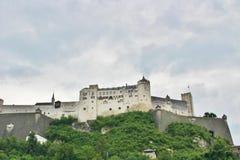Festung Hohensalzburg,萨尔茨堡 免版税库存照片