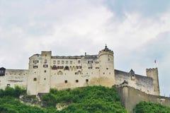 Festung Hohensalzburg,萨尔茨堡 免版税图库摄影