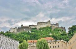 Festung Hohensalzburg,萨尔茨堡 库存图片