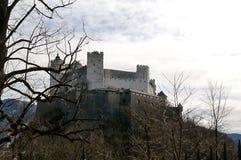 Festung Hohensalzburg in Salzburg Royalty Free Stock Photography