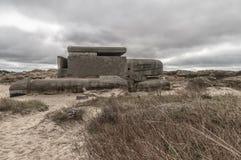 Festung IJmuiden de las arcones los Países Bajos foto de archivo libre de regalías