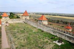Festung im Bieger, Transistria, Ansicht von oben Stockfotografie