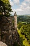 Festung Königstein stock photography