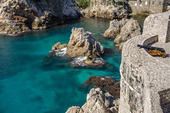 Festung Lovrijenac - Dubrovnik Lizenzfreie Stockfotografie