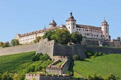 Festung Marienberg stockfoto