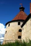 Festung Oreshek Shlisselburg Lizenzfreie Stockfotos
