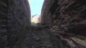 Festung Poenari stock video footage