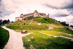 Festung Rasnov lizenzfreies stockbild