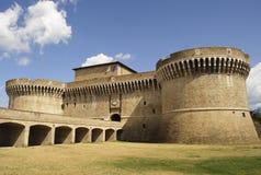 Festung Rocca Roveresca in Senigallia, Italien Stockbilder