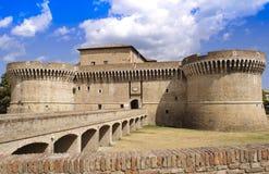 Festung Rocca Roveresca in Senigallia - Italien Stockbilder