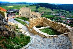 Festung Rupea (Ripse) stockbild