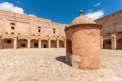 Festung Salses Stockbild