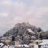 Festung Salzburg royalty free stock images
