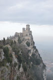 Festung in San Marino Stockfotos