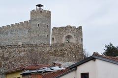 Festung in Skopje lizenzfreie stockbilder
