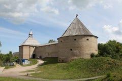 Festung in Staraya Ladoga Lizenzfreie Stockfotografie