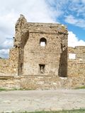 Festung in Sudak lizenzfreies stockfoto