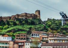Festung in Tiflis Stockbilder