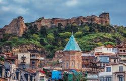 Festung in Tiflis Lizenzfreies Stockbild
