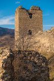 Festung Trascau Lizenzfreie Stockbilder