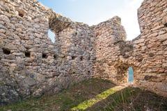 Festung Trascau 8 Stockbild
