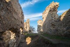 Festung Trascau 10 Stockbilder