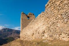 Festung Trascau 11 Stockbild