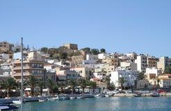 Festung von Casa Di Arma in der Stadt von Sitia kreta lizenzfreies stockbild