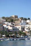 Festung von Casa Di Arma in der Stadt von Sitia kreta lizenzfreie stockfotografie