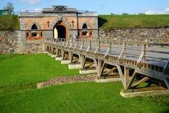 Festung von Dinaburg Lizenzfreies Stockfoto