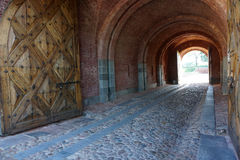 Festung von Dinaburg Stockbild