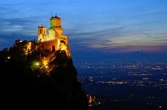 Festung von Guaita lizenzfreies stockfoto
