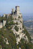 Festung von Guaita, San Marino Republic Lizenzfreie Stockfotografie